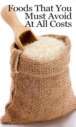 Avoid White Rice