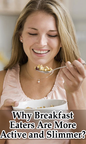 Breakfast Eaters More Active and Slimmer