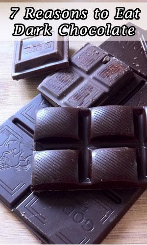 7 Reasons to Eat Dark Chocolate