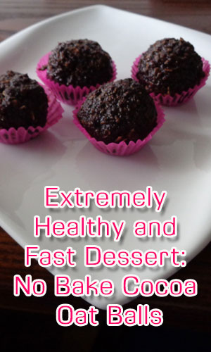 Extremely Healthy and Fast Dessert