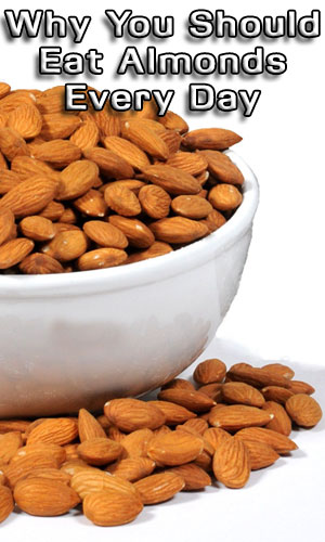 Why You Should Eat Almonds Every Day
