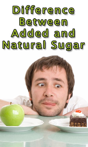 Difference Between Added and Natural Sugar