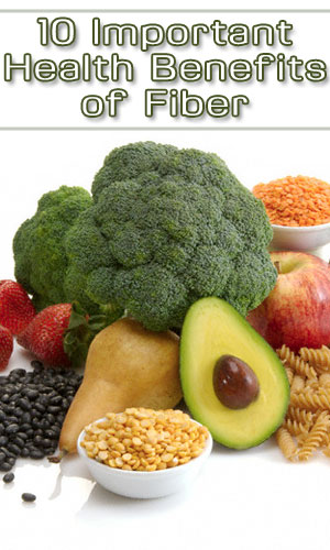 10 Important Health Benefits of Fiber