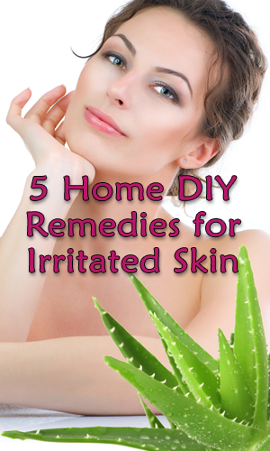 5 Home DIY Remedies for Irritated Skin