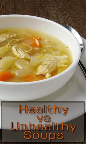 Healthy vs Unhealthy Soups
