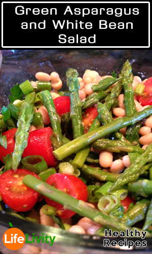 Green Asparagus and White Bean Salad